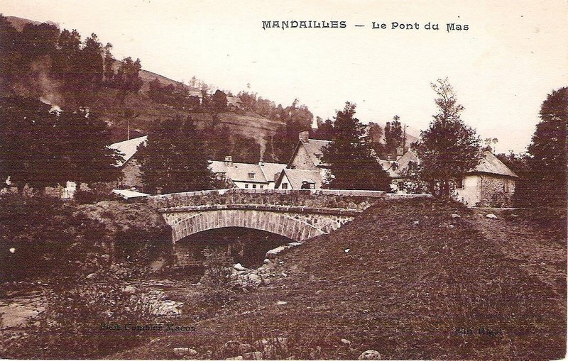Mandailles Le Pont du Mas