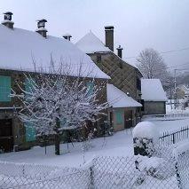 Chutes de neige  janvier 2015