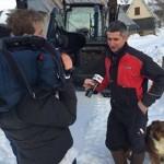 TF1 en reportage à Mandailles Saint – Julien