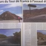 Tour de France 2016, article de La voix du Cantal du 29 10 2015
