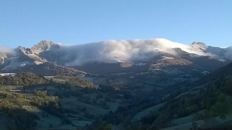 Premières neiges au Puy Mary