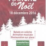 Marché de Noël  le 18 décembre
