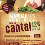 Fête du cantal le 12 août
