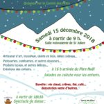 Marché de Noël Samedi 15 décembre 2018